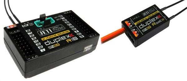 Jeti Duplex 2,4 GHZ Ricevitore R18 Ex  + 1 Rsat2 Satellite modelloli di Grei  consegna gratuita