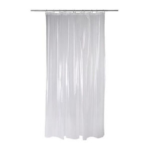 ikea clear shower curtain transparent liner chlorine free 71x71 bathroom nackten ebay. Black Bedroom Furniture Sets. Home Design Ideas