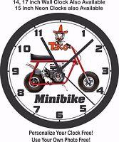 Taco Mini-bike Wall Clock-choose 1 Of 4 & Free Usa Ship