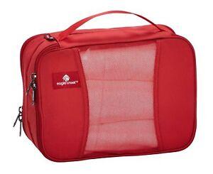 Eagle Creek Pack-it Clean Dirty Half Cube Housse à Vêtements Vêtements Sac Rouge Nouveau-afficher Le Titre D'origine