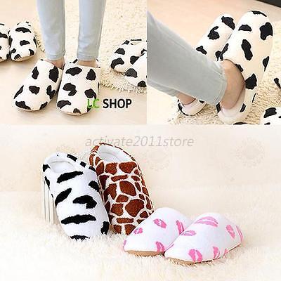 Soft Winter Home House Non-slip Slippers Cotton Warm Sandal Slippers Women Men