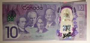 BRAND-NEW-10-Dollar-polymer-Banknote-150-year-commemorative