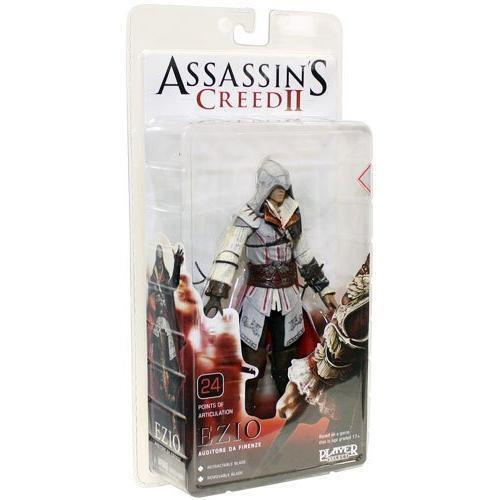 Ezio Auditore Weiß Cloak Assassins Creed III Player Select Action Figur NECA