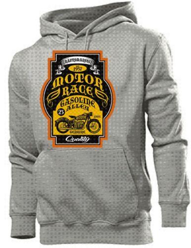 Sudadera Nose Motor Pin Callejᄄᆴn Craftman capucha Coche Gasolina Us Rod Autᄄᆭntico Art up con Hot Race U6xr4awqU