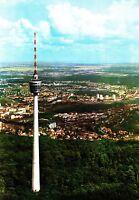 Stuttgart , Fernsehturm , Ansichtskarte , 1967 gelaufen