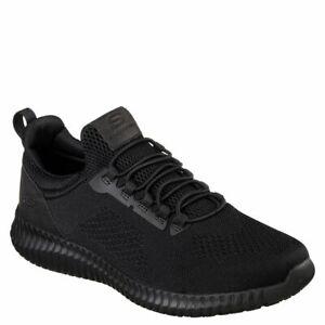 skechers slip resistant mens work shoes