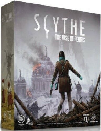 Scythe-The Rise of Fenrir-Board Game Expansion