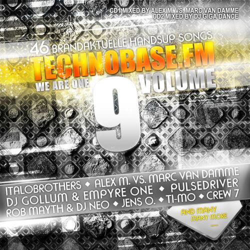 1 von 1 - CD TechnoBase.FM We Are One Vol.9 von Various Artists 2CDs