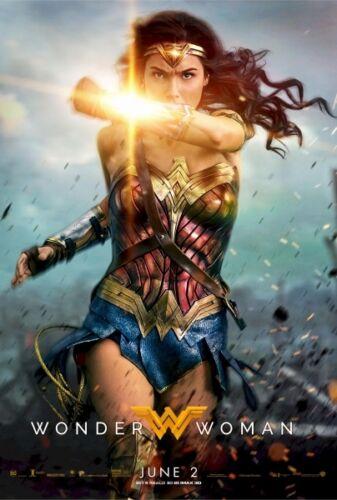 new! Gal Gadot Wonder Woman movie poster replica fridge magnet