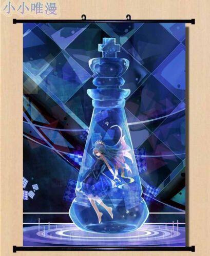 Home Decor Poster Wall Scroll New Anime No Game No Life Shiro Japanese Art Cos A