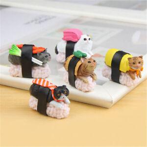 5-Types-Sushi-Neko-Cat-Club-Capsule-Meow-Mini-Figure-Kitty-Collection-Gift-BS