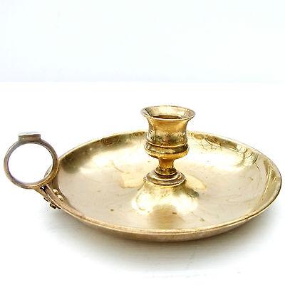 Vintage Brass Wee Willie Winkie Candlestick Candle Holder