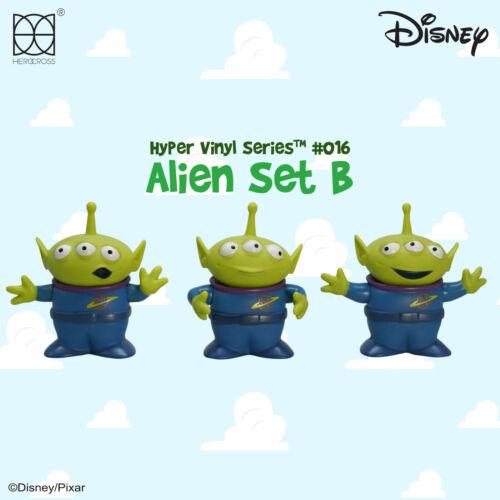 "HEROCROSS HVS #015 Disney Toy Story Alien Set #B 3"" Vinyl Figure"