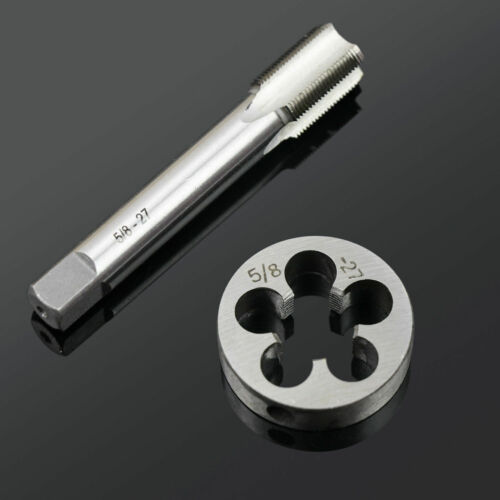 5//8x27 5//8-27 UNS HSS Right Hand Thread Tap and Die Set 5//8/'/' 27 TPI