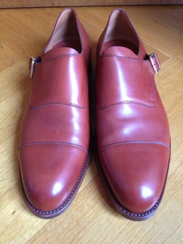 Albaladejo Brun Rouge Brown Boucles Chaussures Monk Dress Shoes Us 12 Eur 45/46 Uk 11-e Monk Dress Shoes Us 12 Eur 45/46 Uk 11 Fr-frafficher Le Titre D'origine