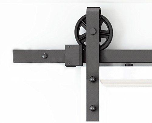 DIYHD industrielle steuer rutschen scheune holz tür küchentür track hardware