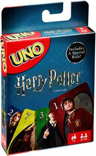 Mattel Games Uno Harry Potter Card Game For Christmas New Family Card Game