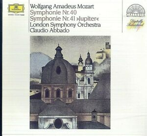 """Mozart,  Claudio Abbado – Symphony No. 40 / Symphony No. 41 """"Jupiter"""""""