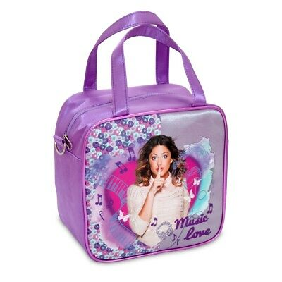 Violetta Music Love Borsa Borsetta 21x21cm Originale Disney Bag Ufficiale Nuova Ufficiale 2019