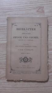 E. Wiedemann - Beiblatter Zu Den Annalen Der Physik Und Chemie - 1886 - Nº3