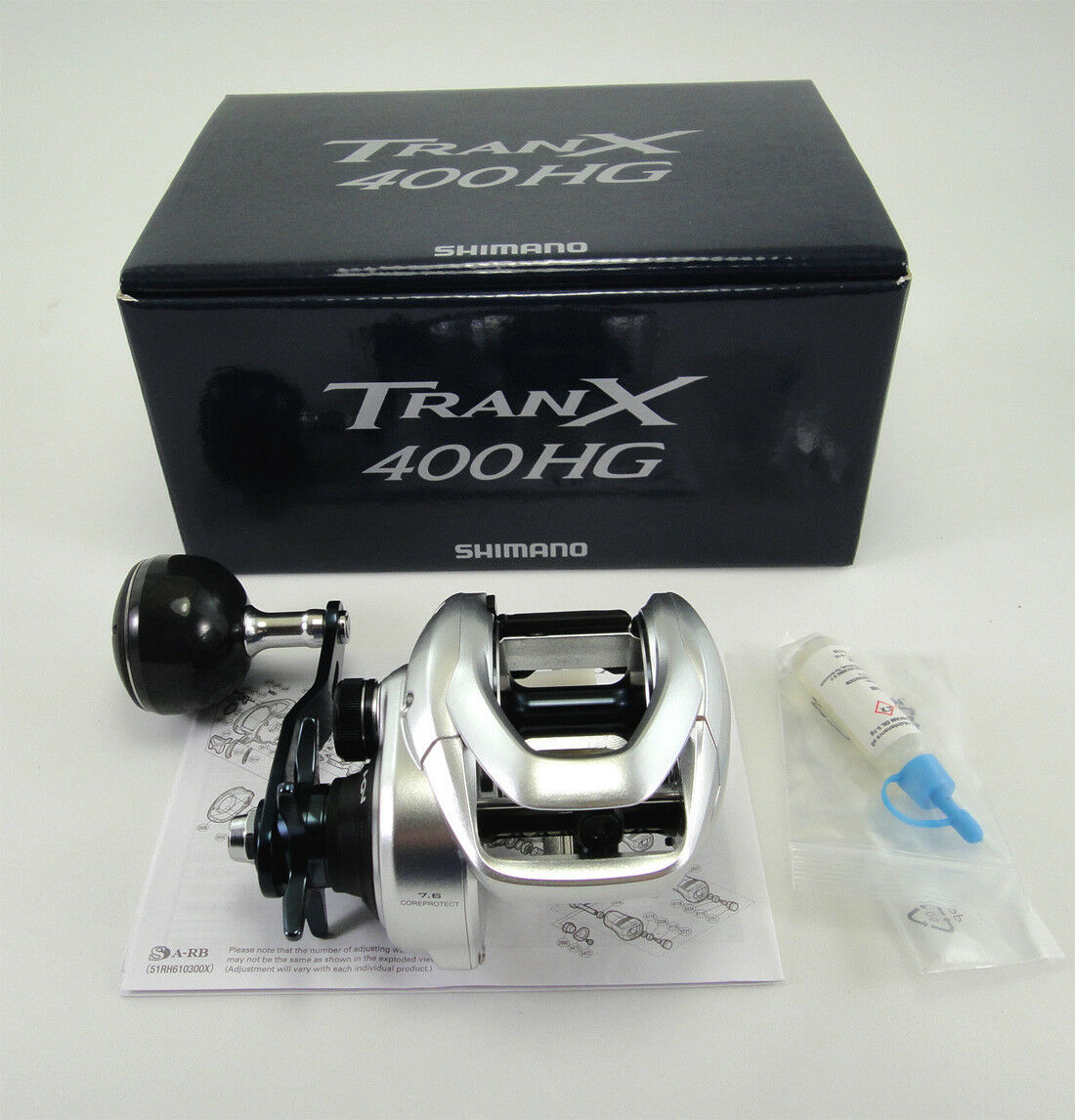 NEW  SHIMANO TRANX 400HG 400 HG Reel 7.6 1 U.S SELLER FREE 1-3 DAYS DELIVERY  top brands sell cheap