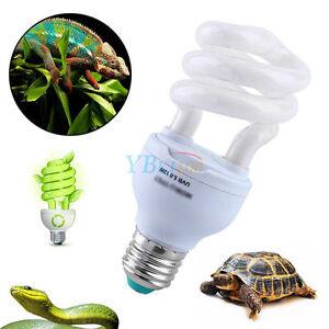uvb 5 0 13w ampoule reptile lumi re lampe uv vivarium terrarium tortue serpent ebay. Black Bedroom Furniture Sets. Home Design Ideas
