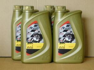 7-45-l-ENI-I-Ride-10W-60-4-x-1-L-4Takt-Racing-Ol-fur-Gilera-Derby