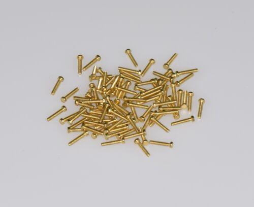 SK10500 Dingler Schrauben Außensechskant Messing M1.0x5mm 100 Stück
