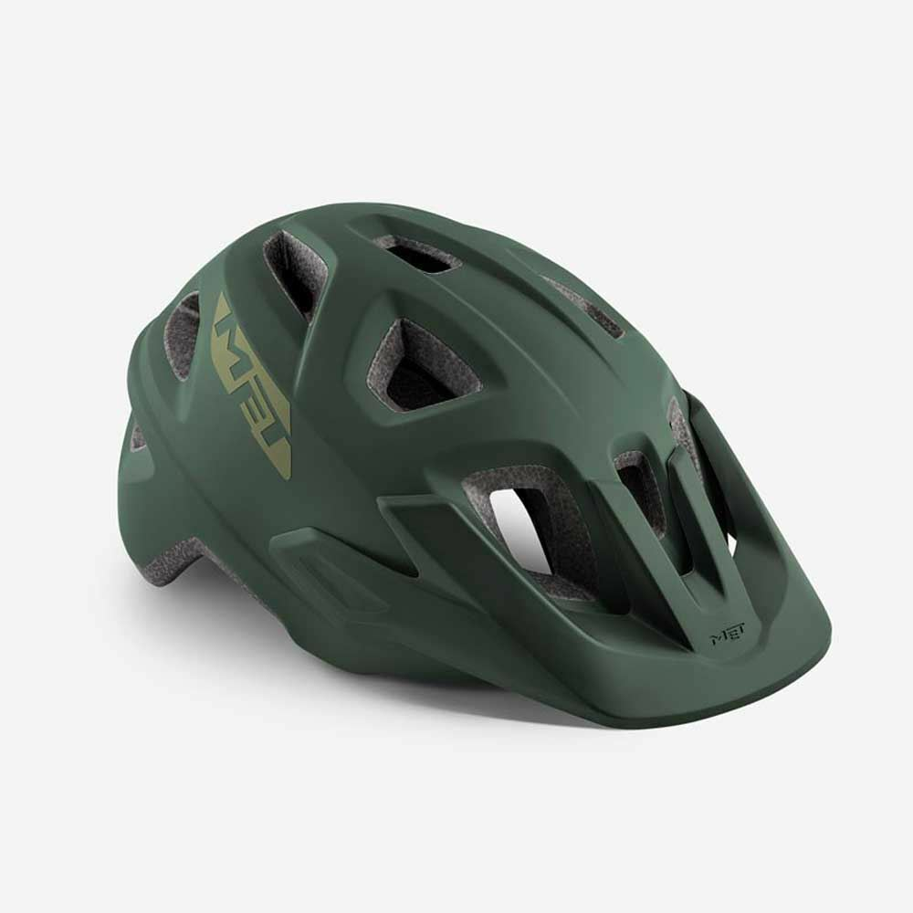 Mountain Bike Cycle Helmet MET  Echo Army Green Matt 52 57  in stock