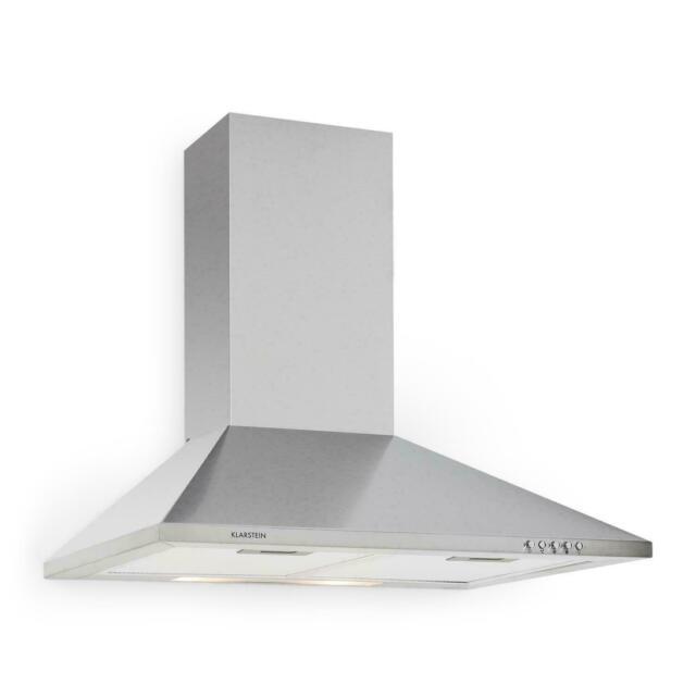 Klarstein TR60WS Filter 2 Cappa Aspirante da Cucina 60 cm - Argento