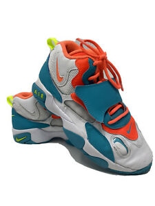 Nike-Air-Max-Speed-Turf-Kids-Size-7y-GS-Crimson-Turquoise-Miami-BQ9632-101