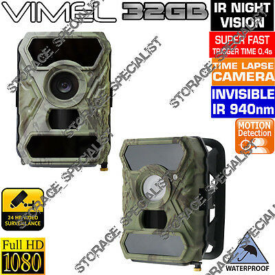 Home Security Camera Professional Trail Trigg 0.5s Hunting System