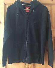 Uomini Nike Tech Fleece Full Zip Felpa con cappuccio - 559592 012-Taglia M-Nero