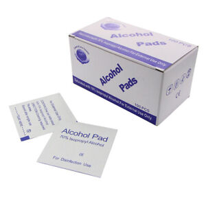 100Pcs-Alcohol-Swabs-Pads-Wipes-Cleanser-Cleaning-Sterilization-First-Aid-FNS