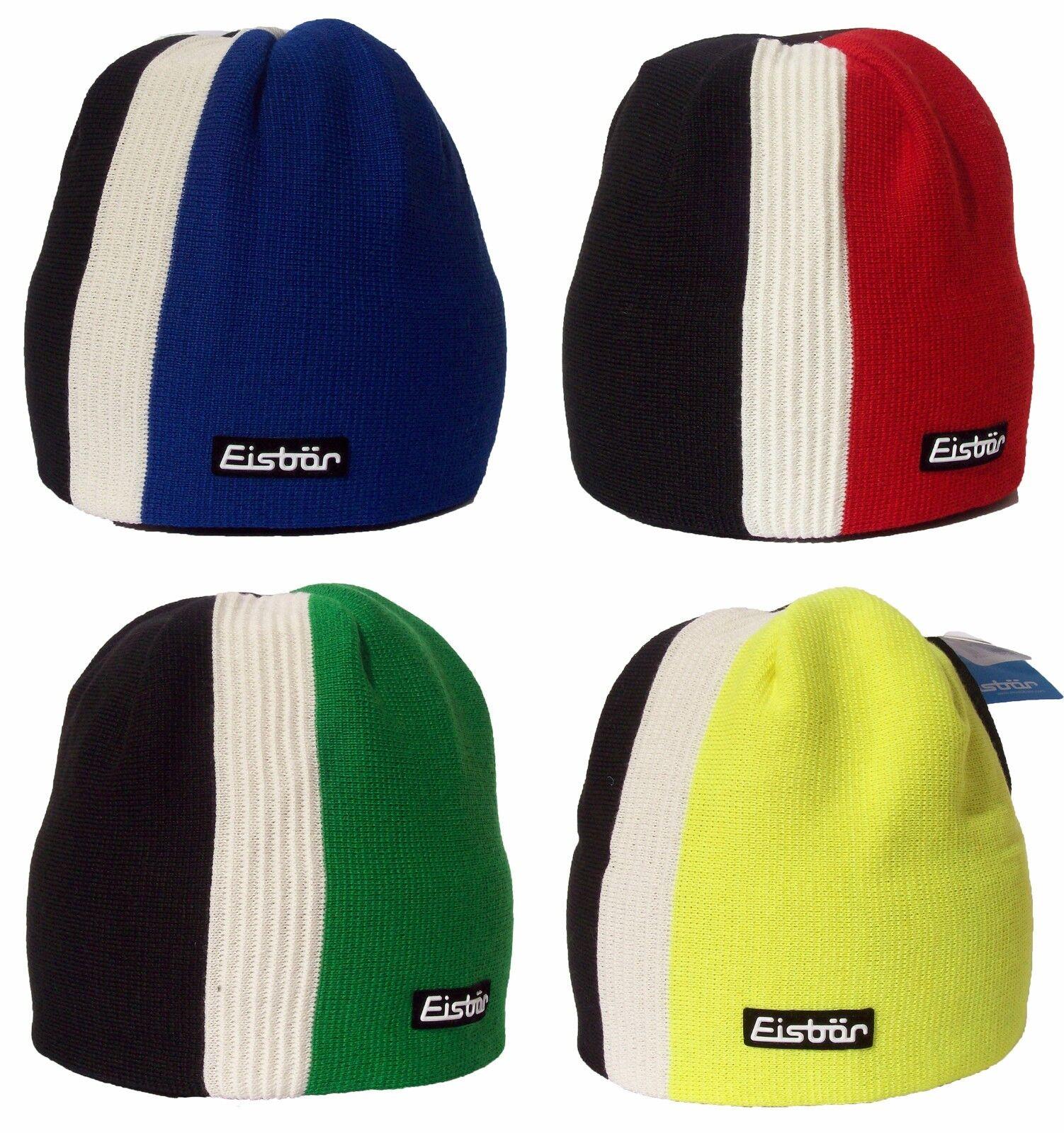 NEW- EISBAR LAZEY MU Austrian Merino Wool Winter Sports Knitted Ski Hat