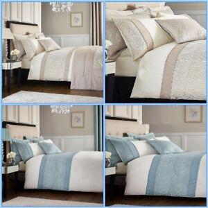 Catherine-Lansfield-Ornate-Jacquard-Duvet-Cover-Bedding-Set-Accessories