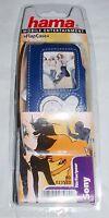 Sony Nw-a 800 Mp3 Tasche Flapcase Klettverschluss Player Nw-a800 Echt Leder Neu