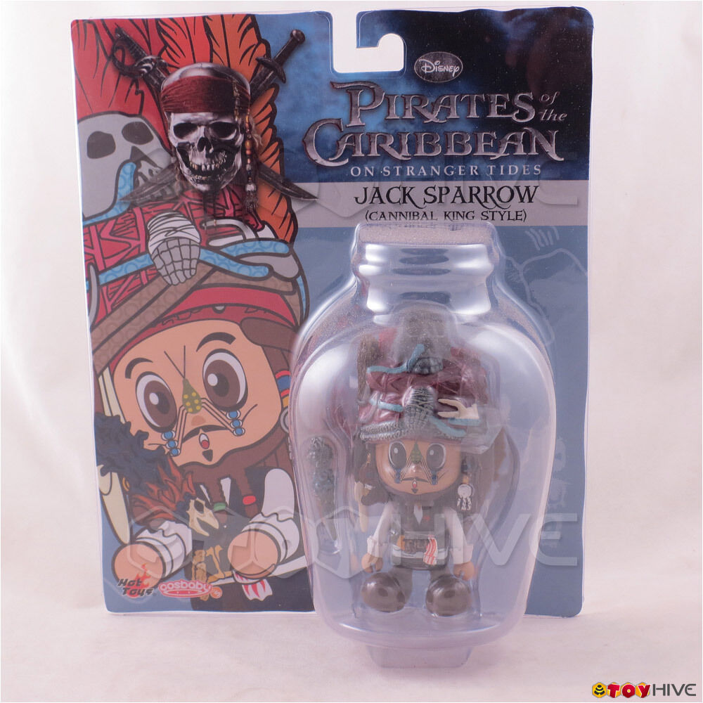Pirates of the voitureibbean Cannibal King Jack Sparrow CosBaby figure by heiß Spielzeugs