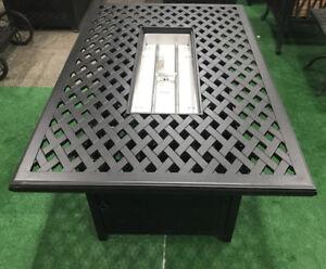 Cast-aluminum-propane-fire-pit-table-coffee-outdoor-patio-furniture-Desert-Bronz