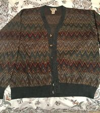 Men Cardigan Knitting Sweater Formal V Neck Single Breasted
