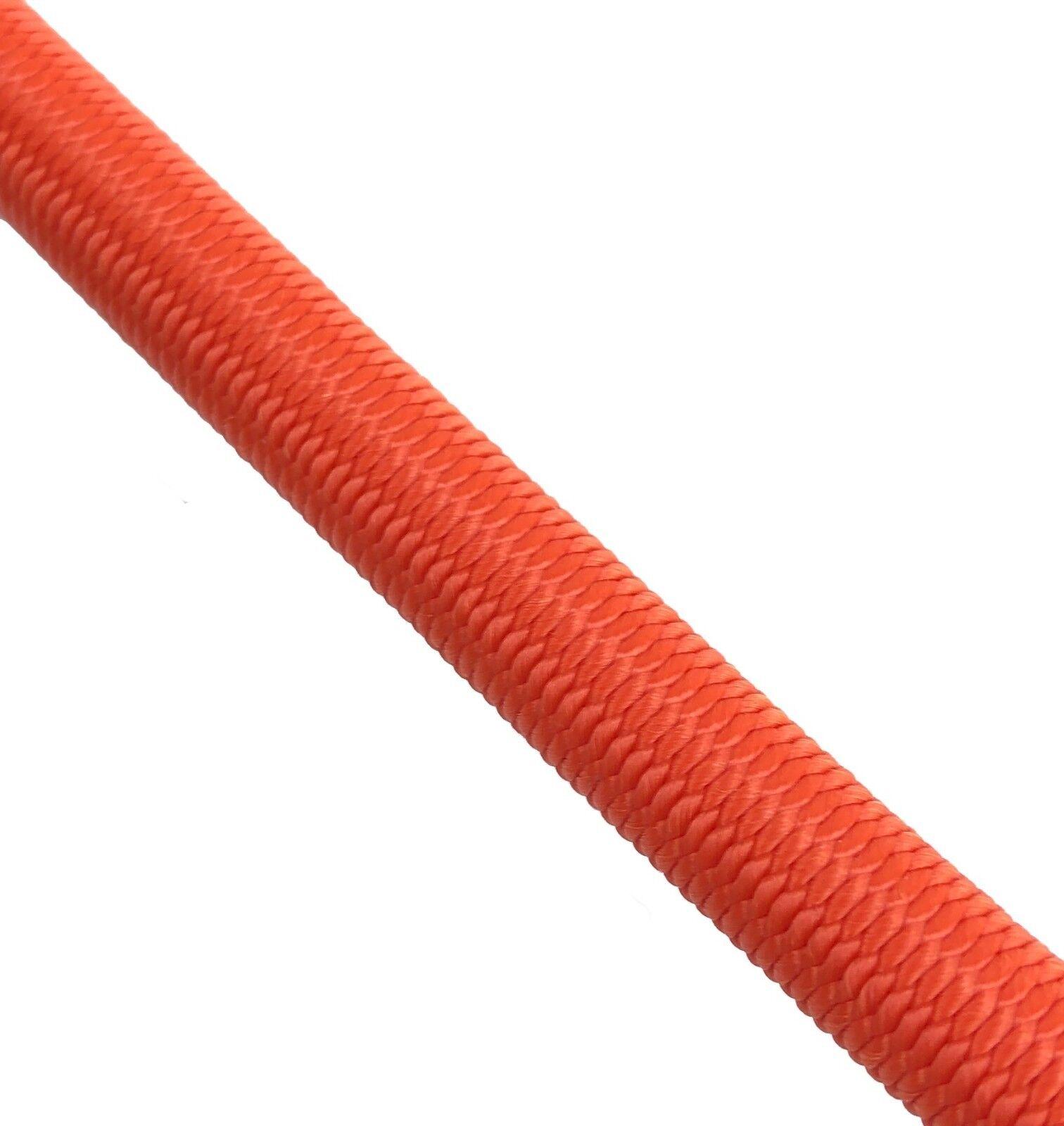 10mm Orange Elastischer Gummizug Seil X 75 Meter Krawatte Krawatte Krawatte Unten 14201f