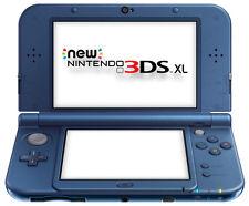 The *NEW* 2014 Nintendo 3DS XL Console Metallic Blue PAL / C Stick + Warranty!!
