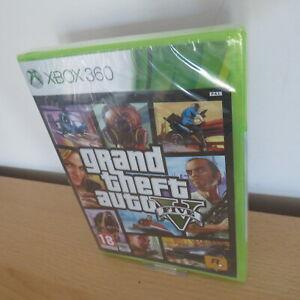 Grand Theft Auto 5 GTA V-Xbox 360-New & Sealed