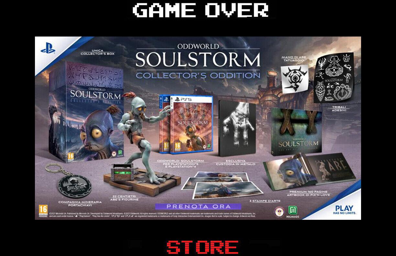 oddworld soulstorm collector's edition contenuti