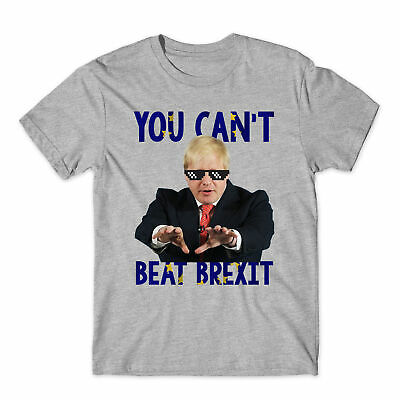 BORIS JOHNSON FOR PM T-SHIRT CONSERVATIVE TORY PRIME MINISTER BREXIT HUMOUR