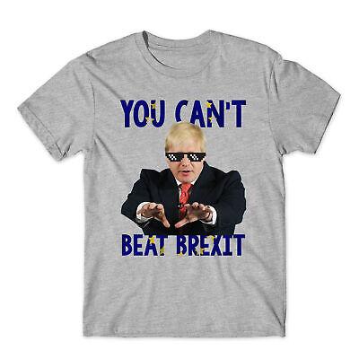 Boris Johnson Homage T-shirt Tee Funny UK Prime Minister Brexit 90/'s Retro