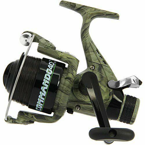 2x New Lineaeffe Commando 40 Camo Free Spool Carp Coarse Runner Reel Spare Spool