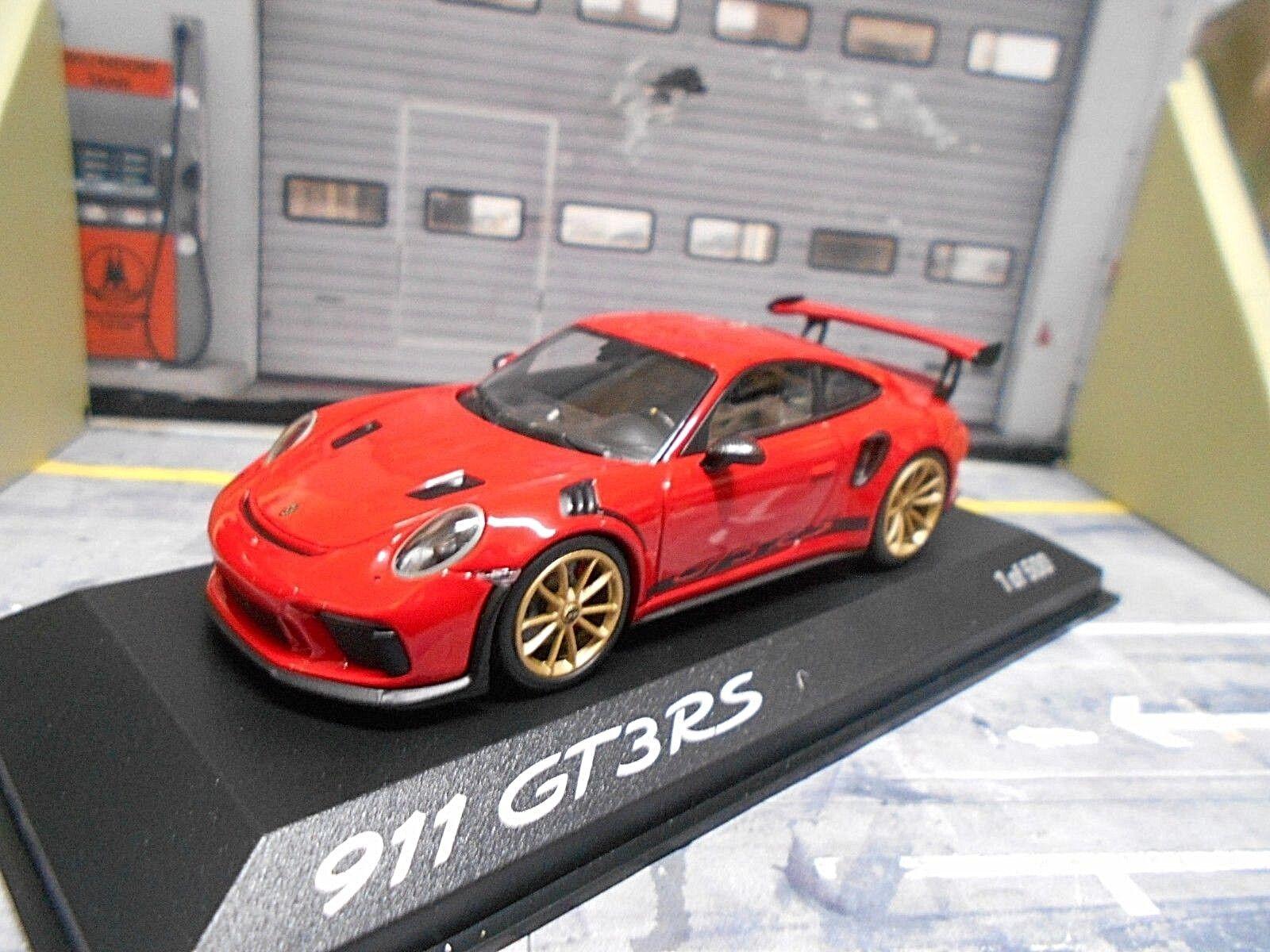 Porsche 911 991 gt3 rs gt3rs 991.2 Facelift Rouge rouge rouge rouge 1 500 MINICHAMPS 1 43 e3629c