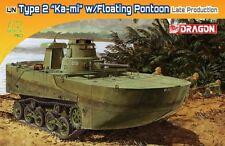 Dragon 7486 1/72 IJN Type 2 Amphibious Tank (Ka-Mi) w/Floating Pontoon (Late V.)