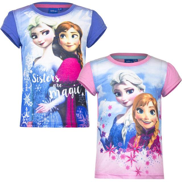 🌟✨ Disney Frozen Eiskönigin T-Shirt für Mädchen 4-8 Jahre 🌟✨
